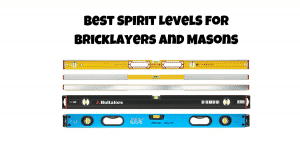bricklayers spirit level