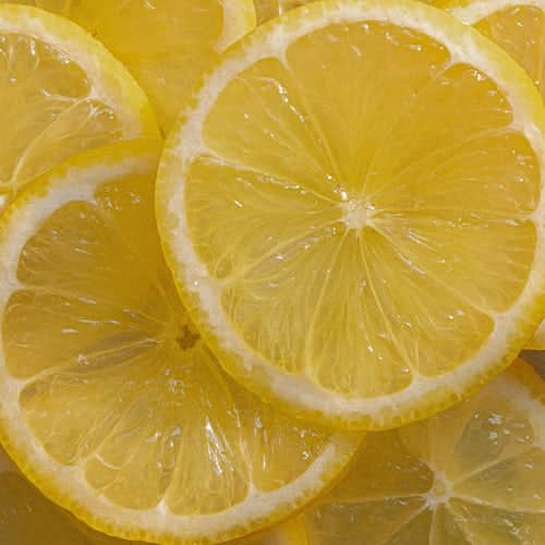 cleaning tools with lemon and salt