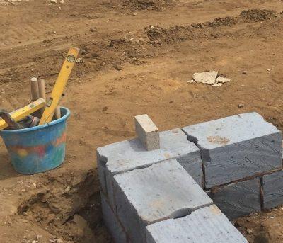 Bricklayers tool bucket