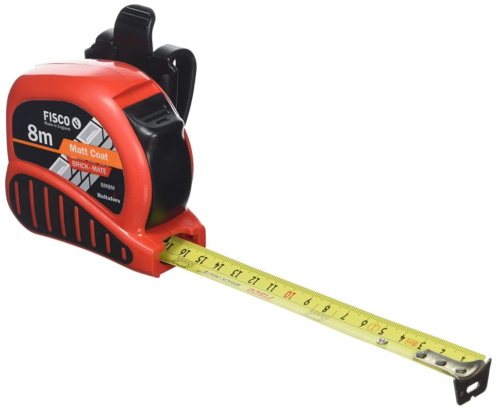 bricklayers tools specialist tape measure