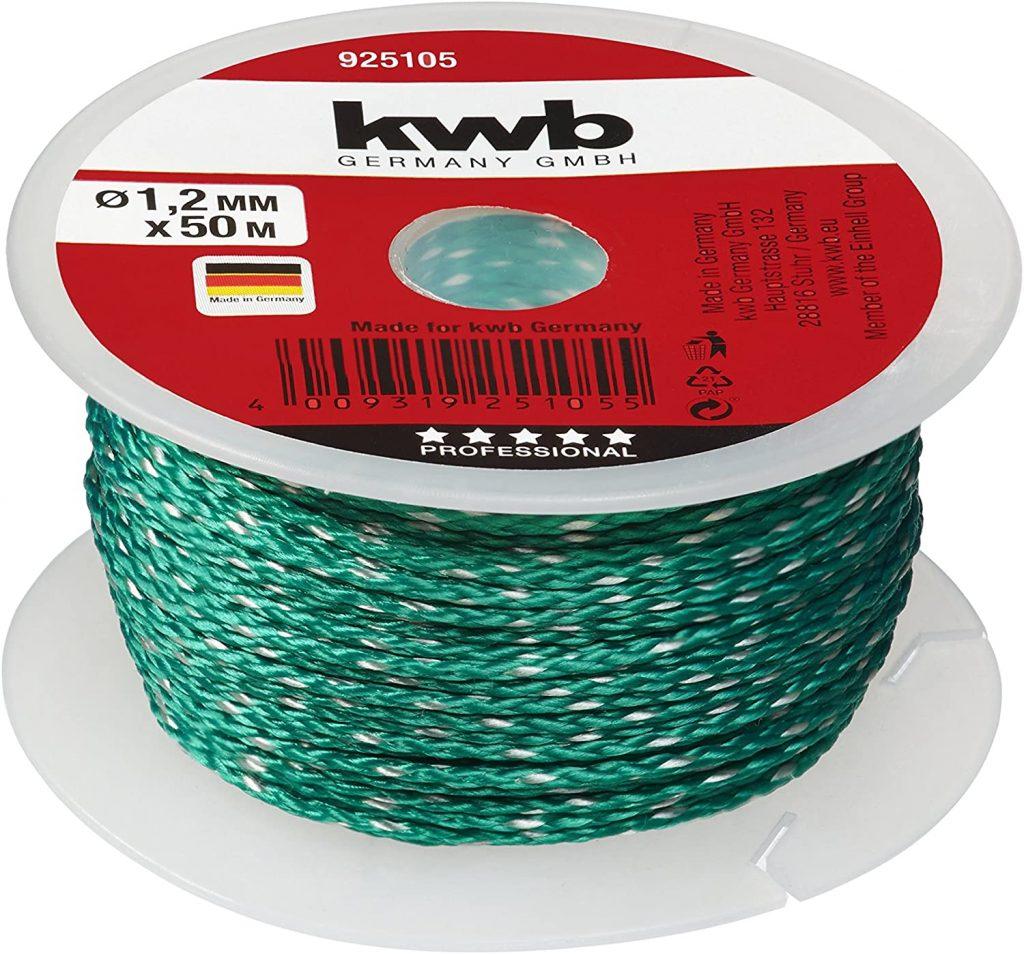 Kwb 1.2 M Brick Line 50 Green bricklayers string line
