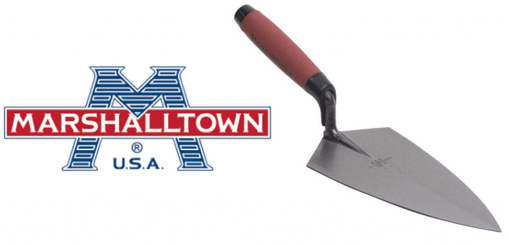 Marshalltown Bricklayers trowel