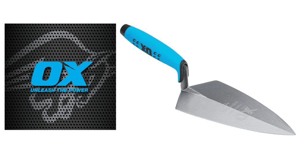 ox bricklaying trowel