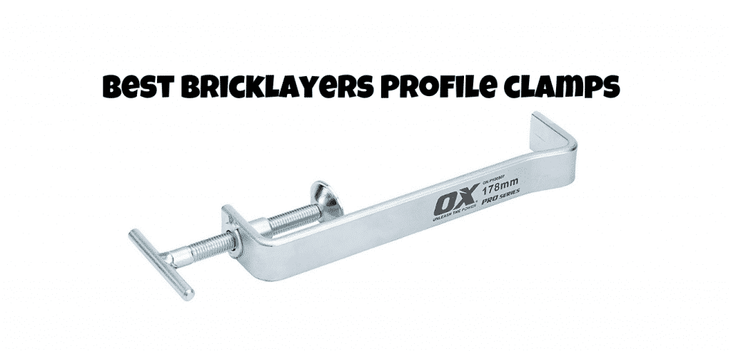 best bricklayers profile clamps