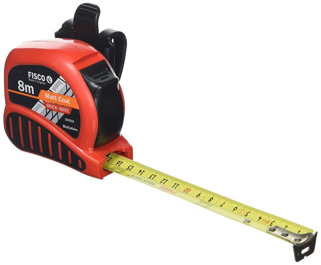 bricklayers tape measure