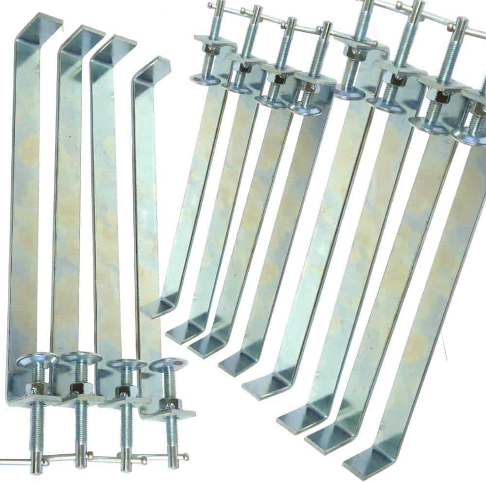 brick profile clamps