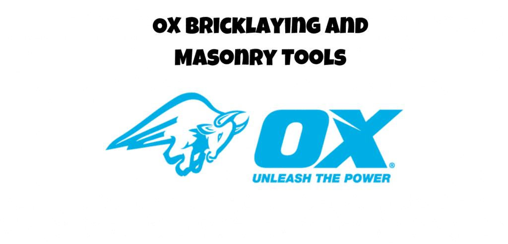 ox bricklaying tools