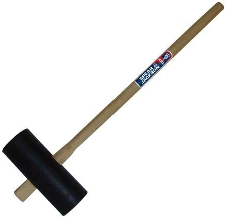 Spear & Jackson RMAUL Landscaping and Fencing Rubber Maul,