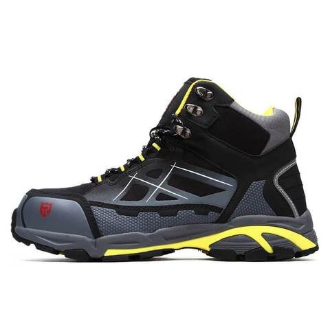 LARNMERN Steel Toe Cap Safety Work Shoes