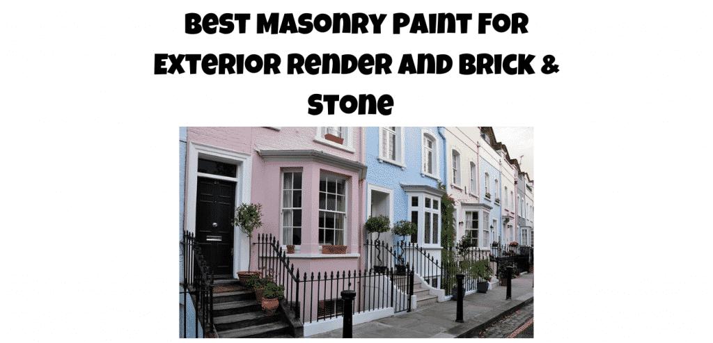 best masonry paint