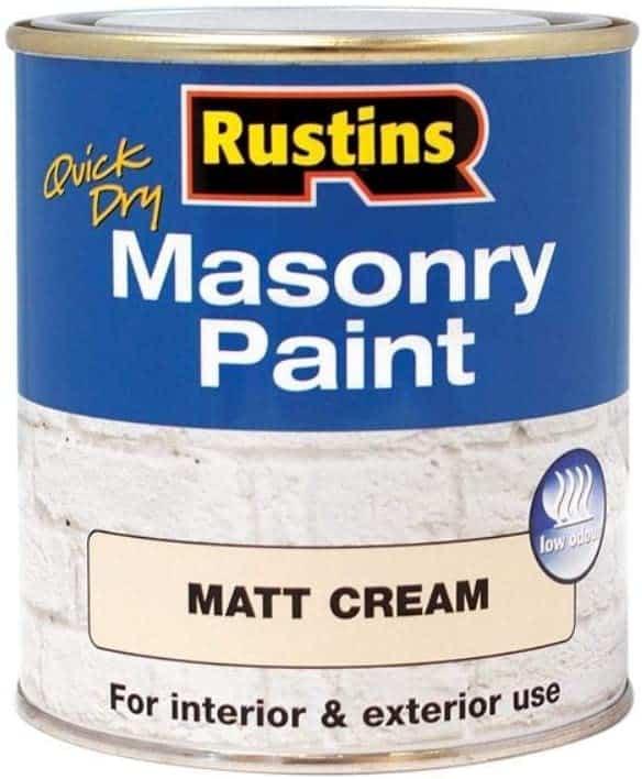 Rustins masonry paint Quick-Dry Multi-use
