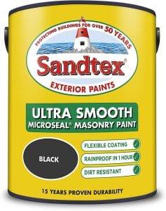 Black Sandtex ultra smooth