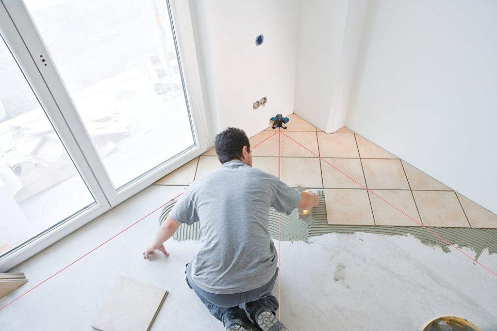 bosch Professional GCL3 Tile demo