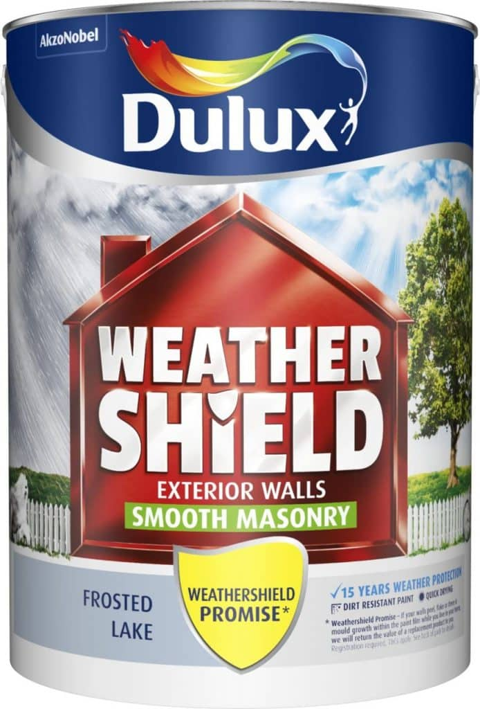 Frosted Lake Dulux Weather Shield Smooth Masonry Paint