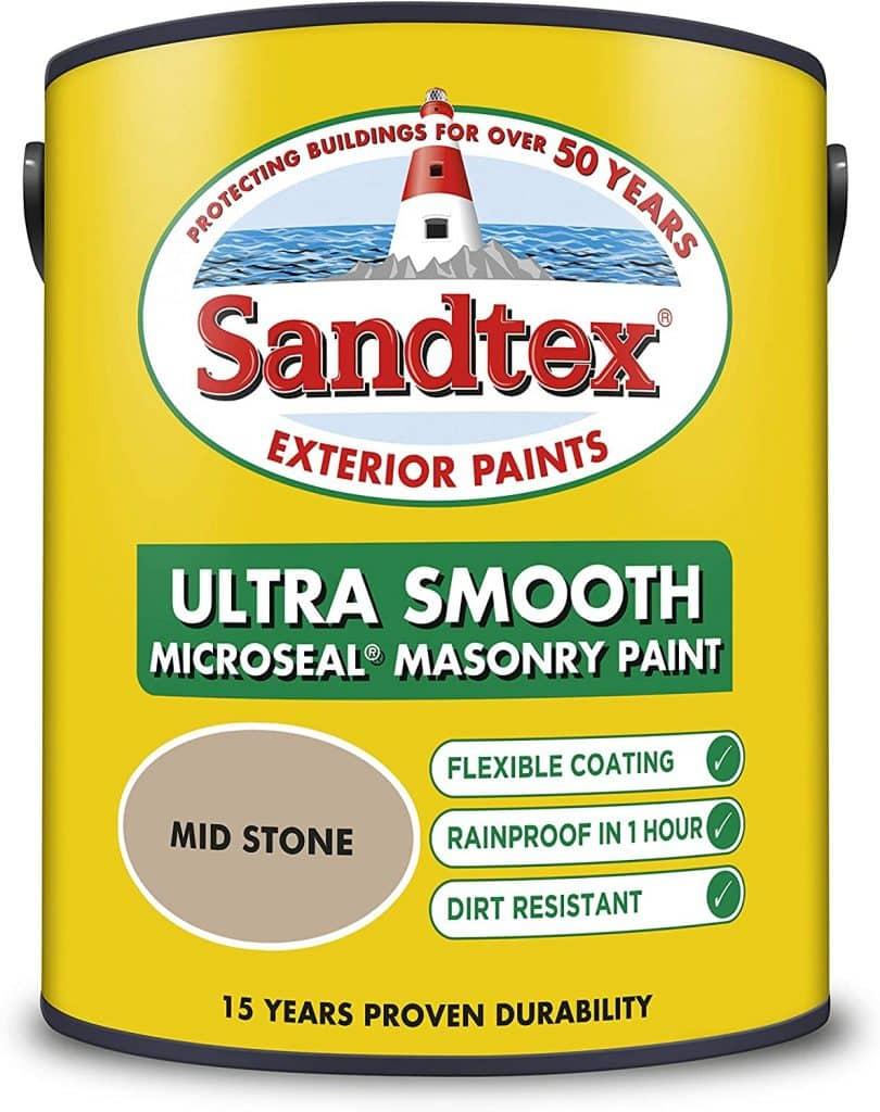 sandtex mid stone