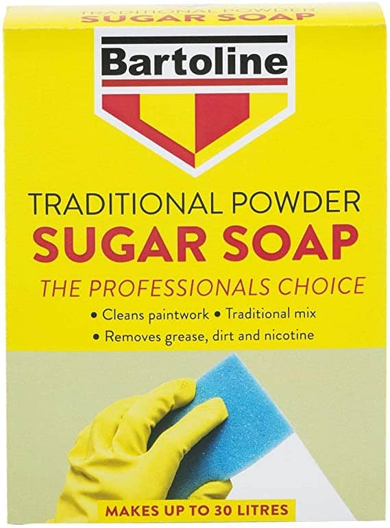 Bartoline Traditional Sugar Soap powder for decorating