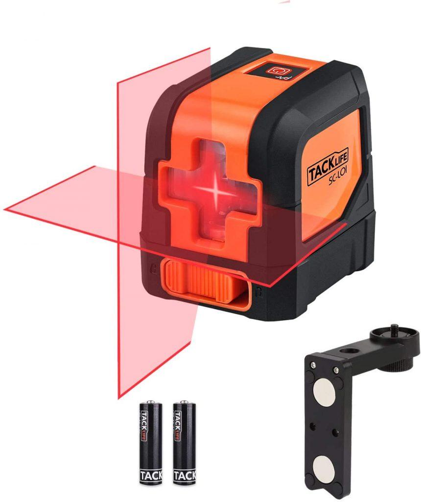 Tacklife SC-L01-50 Feet Laser Level For Wall Tiling