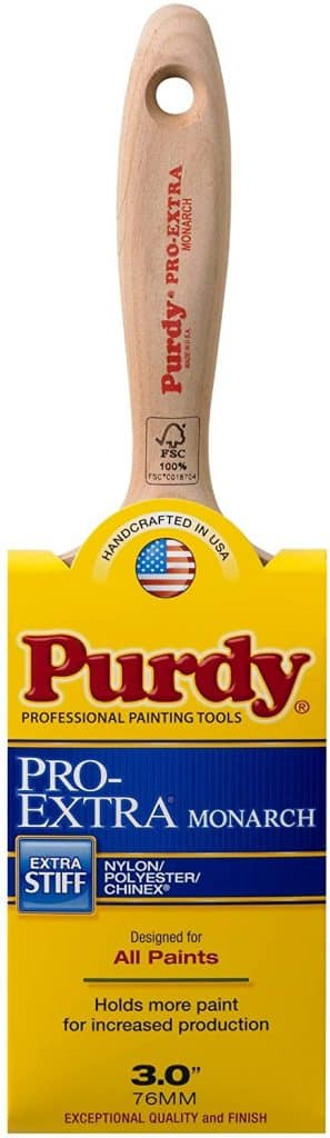 purdy pro extra monarch paint brush