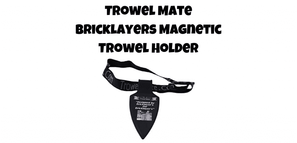 trowel mate bricklayers magnetic troll holder