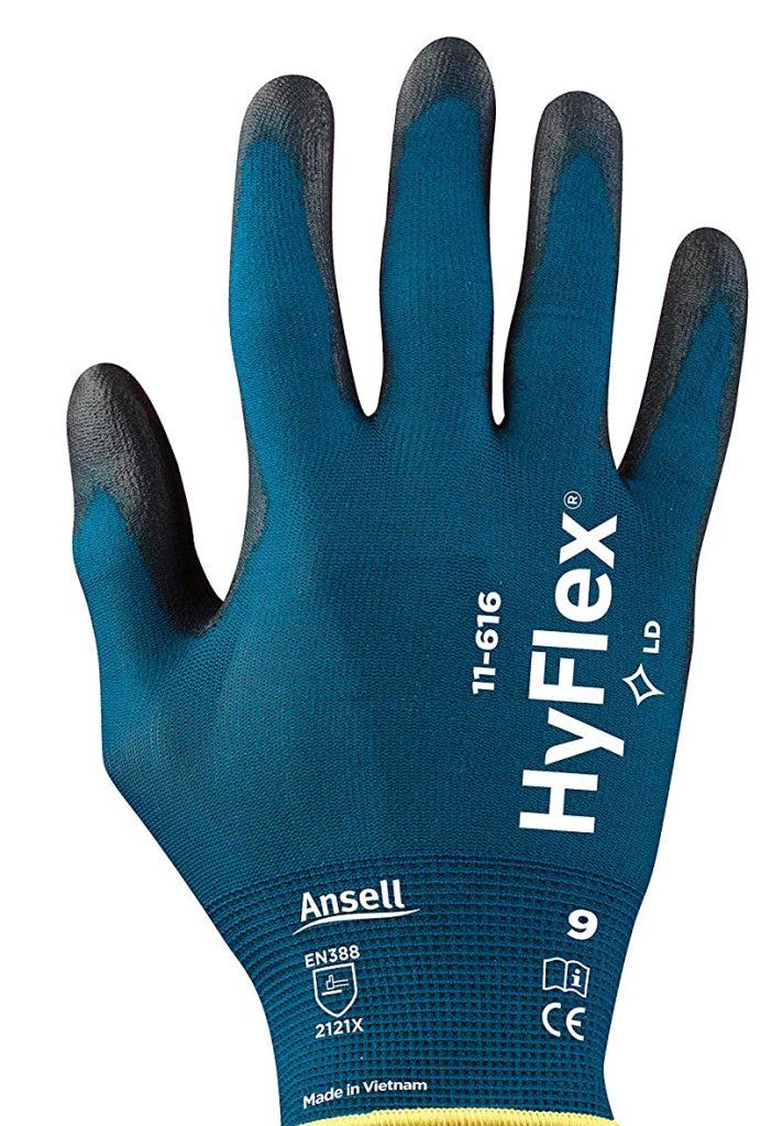 Ansell HyFlex 11-616 Work Gloves