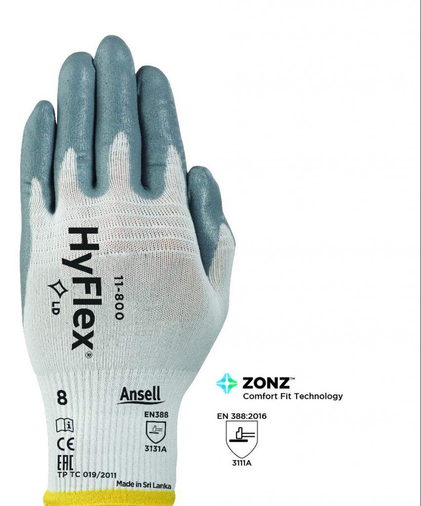 Ansell HyFlex 11-800 Work Gloves