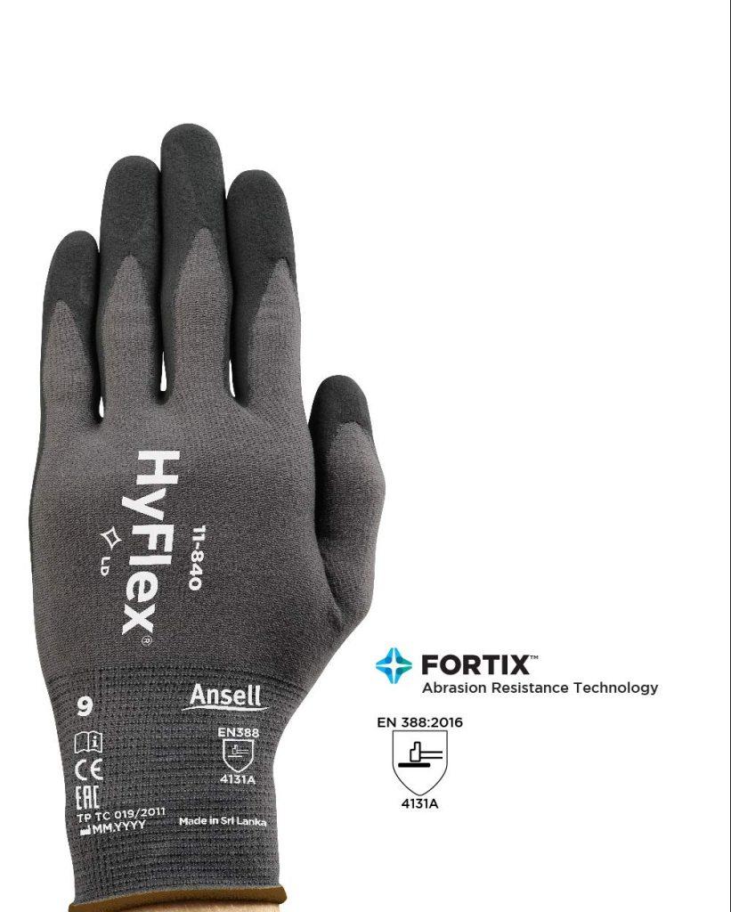 Ansell HyFlex 11-840 Work Gloves