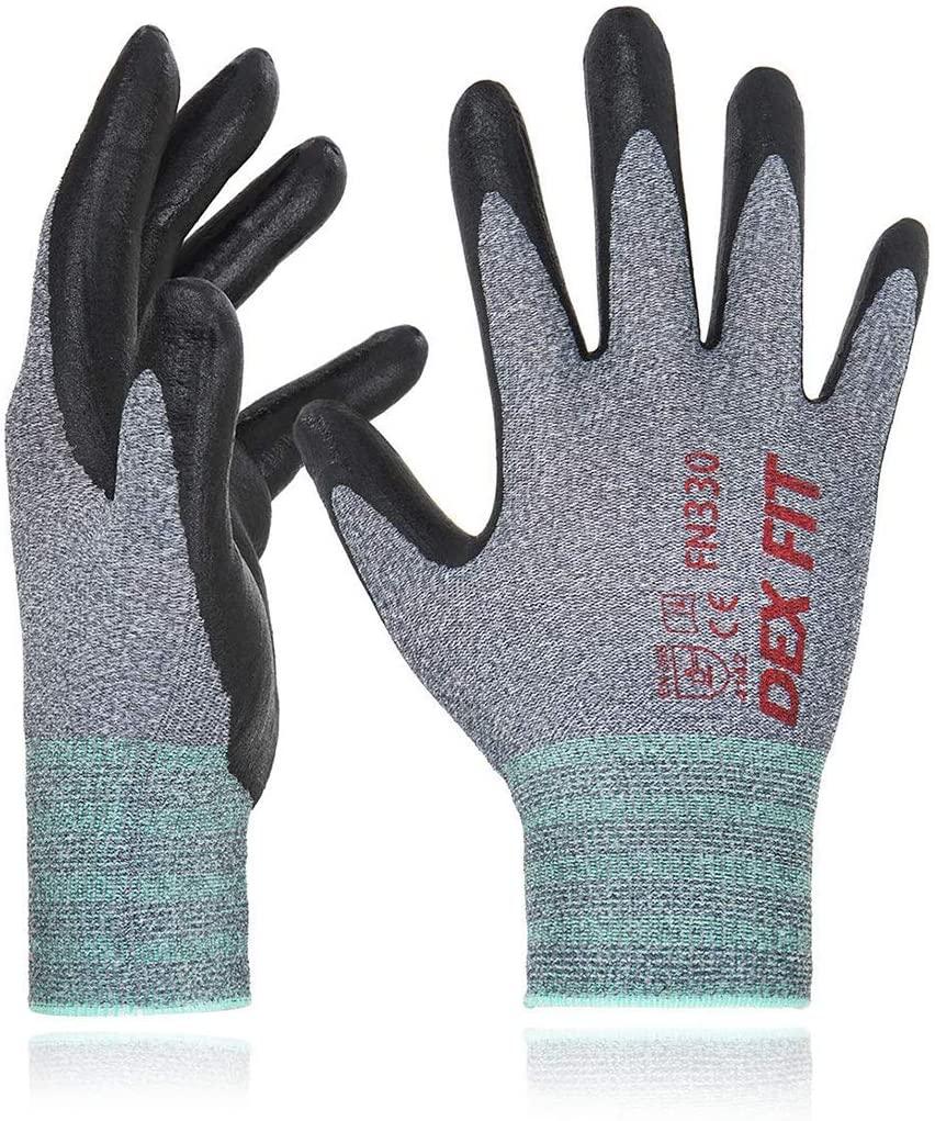 dex fit work gloves fn330