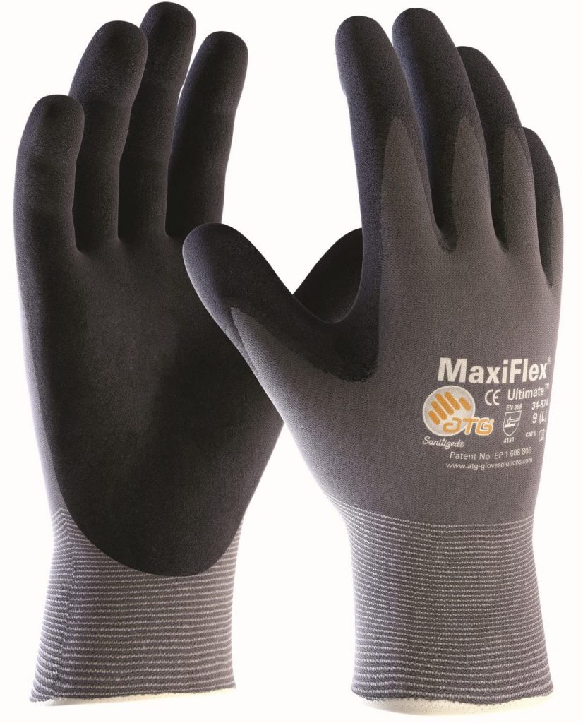 MaxiFlex 2440-M/8 Ultimate Protective Bricklayers Gloves