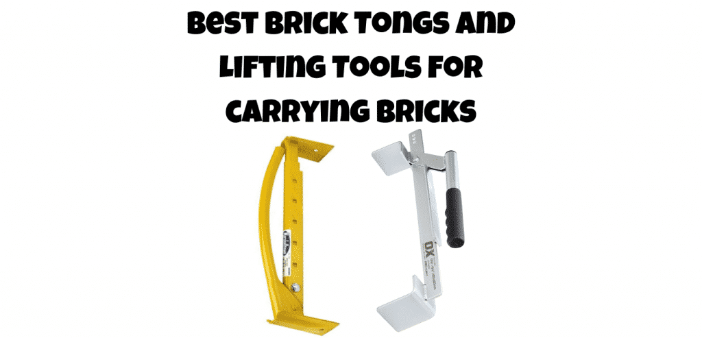 best brick tongs and lifting tools for carrying bricks