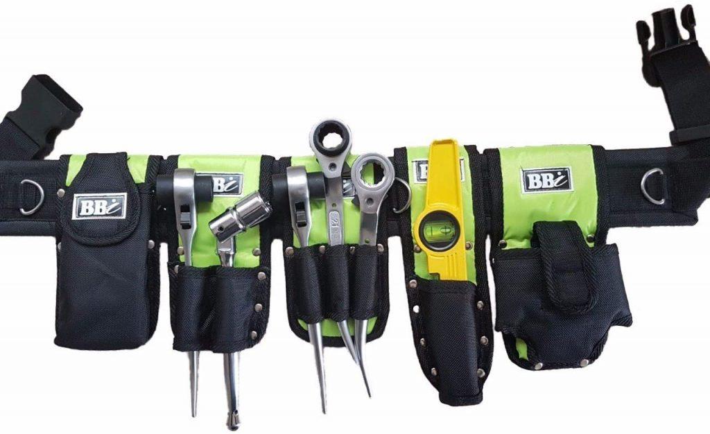 BBI Scaffolding Nylon HI VIZ Tool Belt