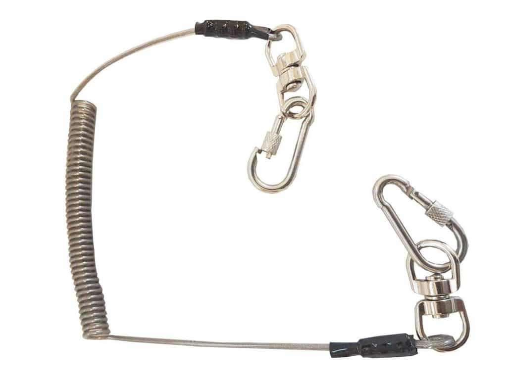 BBI Stainless Steel Wire safety lanyard