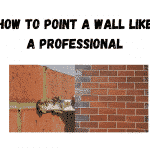 how to Point a wall
