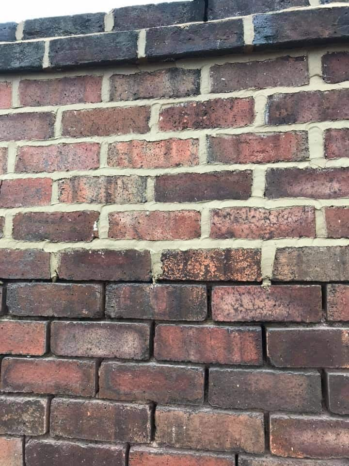 lime mortar pointing